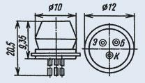 Транзистор ГТ403В
