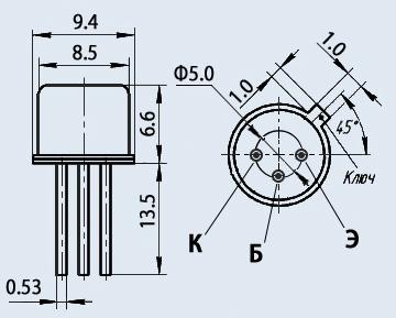 Транзистор 2Т830Д