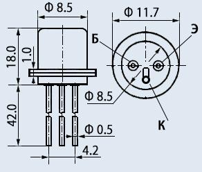 Транзистор ГТ402И