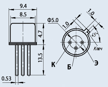 Транзистор 2Т836Г