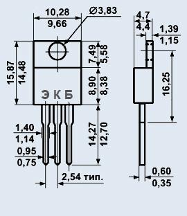 Транзистор 2Т841Б1