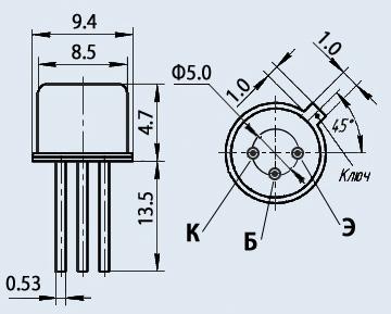 Транзистор 2Т836В