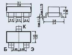 Транзистор 2Т3187А9