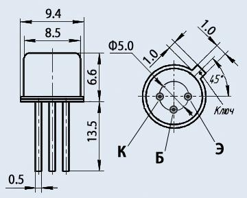 Транзистор КТ708А