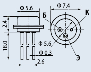 Транзистор 2Т104В